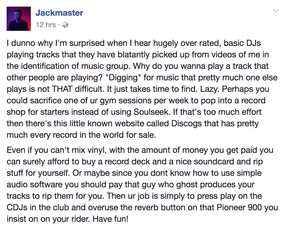 It's time to stop ID'ing tracks in the rave - Comment - Mixmag