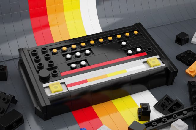 Techno heads get crafty building LEGO replicas of the 808, 303 and turntables