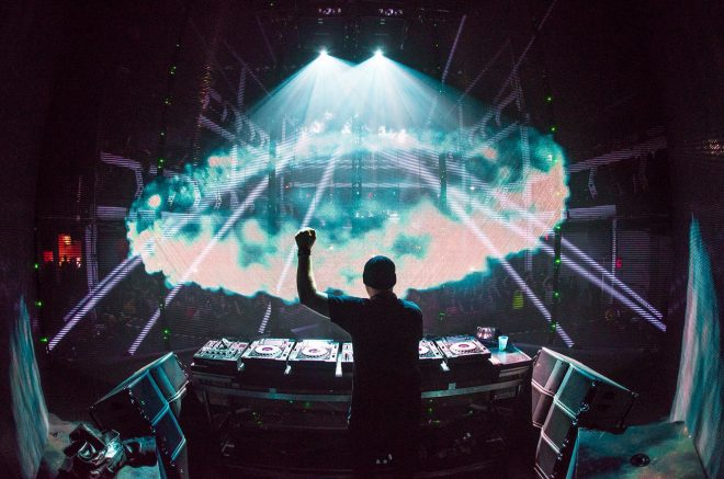Eric Prydz is working on a new 3D light show that looks truly epic