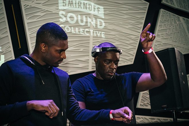 Stream the Smirnoff Sound Collective: Kevin Saunderson b2b the Saunderson Bros, Cry Baby and more