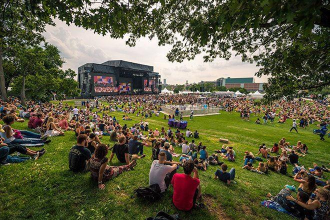 Panorama Festival New York muss Sets wegen Einsturz eines Bühnenbodens absagen