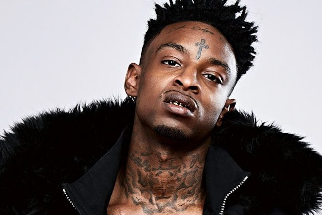 """21 Savage will """"fight"""" to remain in the US, lawyer says"""