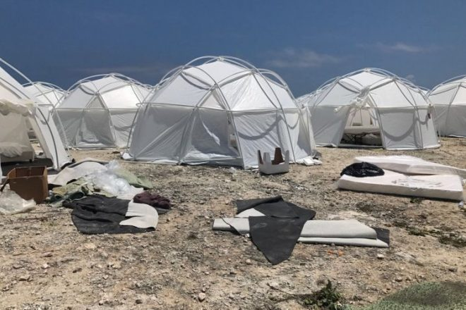 "Fyre Festival aims to sue patrons who compared the grounds to a ""refugee camp"""