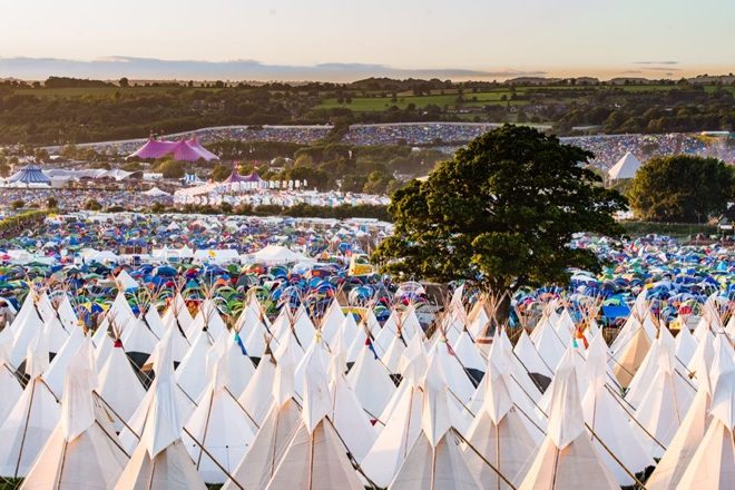 EE will provide 5G at Glastonbury Festival this year