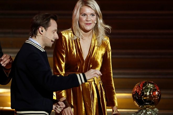 Martin Solveig asks first female Ballon d'Or winner about