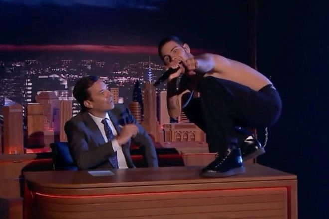 Watch Mura Masa and Slowthai perform on the Jimmy Fallon Show