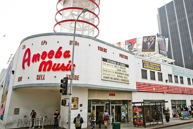 ​Amoeba Music is leaving its flagship Hollywood location
