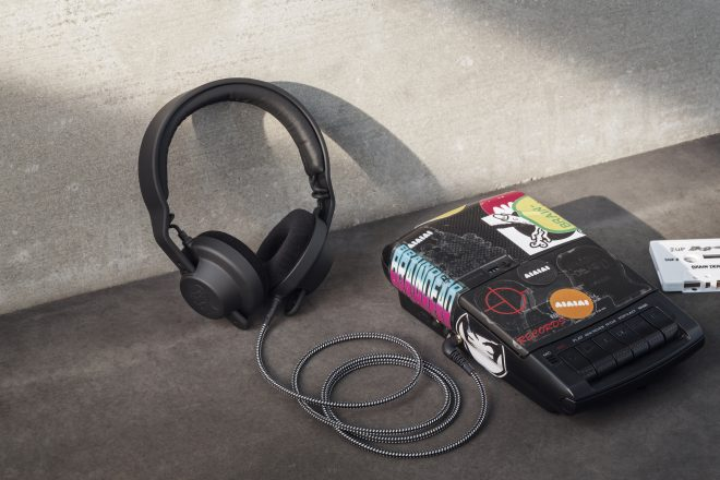 aiaiai has launched a special edition headphone with Brain Dead