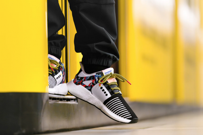 Adidas collaborates on new shoes that double as Berlin transit passes