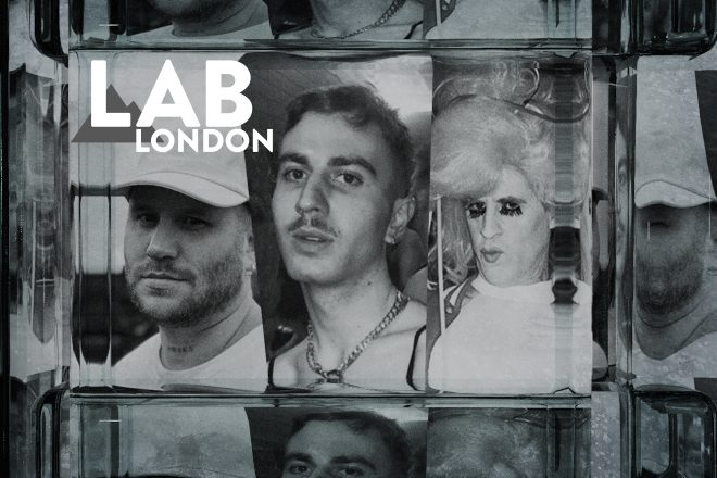 Adonis showcase in The Lab LDN: Shay Malt, Sonikku & Grace Sands