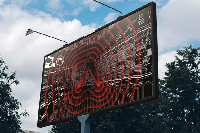 Aphex Twin logos are appearing in cities worldwide