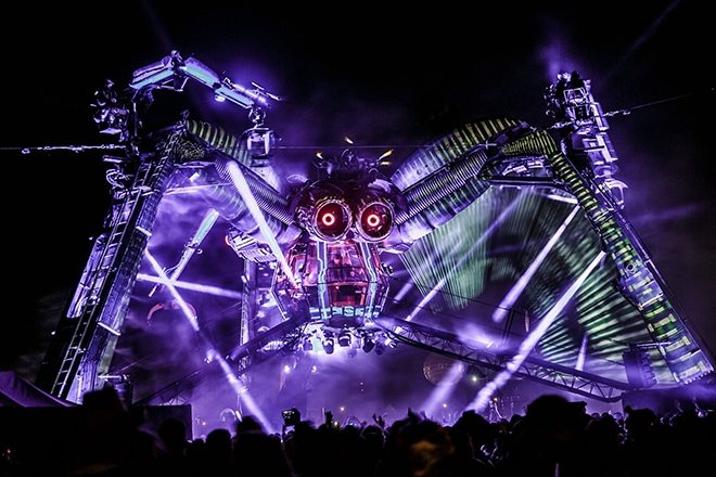 "​Arcadia Spider to be replaced by ""totally different adventure"" at Glastonbury 2019"