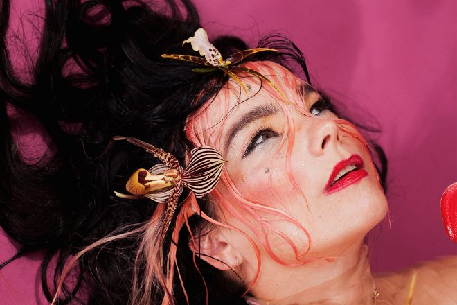 Björk's acting debut is due to be re-released