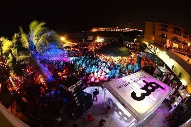 An eye witness has detailed the shooting at The BPM Festival in Mexico