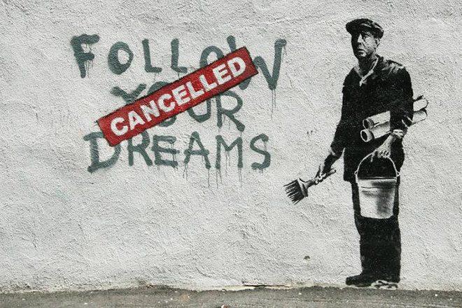 """Banksy widerruft sein """"Wahlangebot"""" nach Einleitung polizeilicher Ermittlungen"""