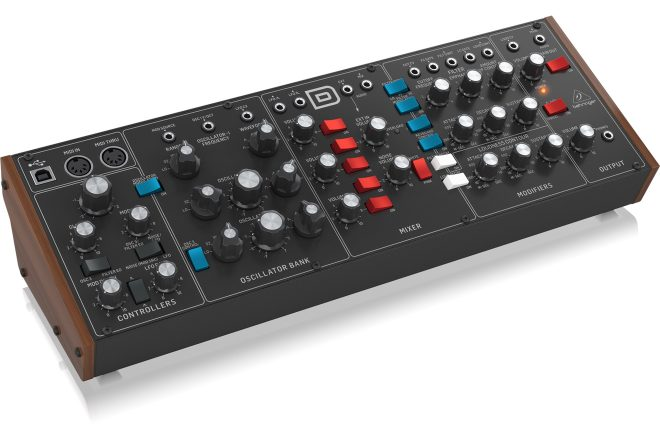 Behringer ramps up the controversy by rolling out its Model D