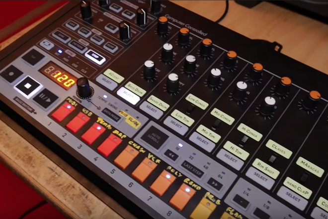 Behringer shares first look at its TR-808 clone in action