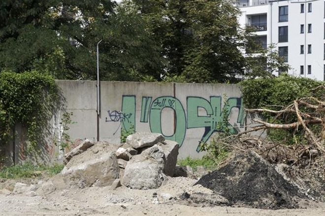 ​A hidden remnant of the Berlin Wall has been rediscovered