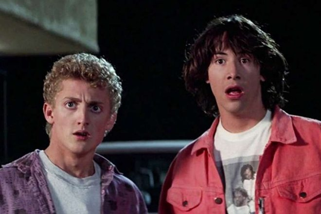 A new Bill & Ted movie is in the works