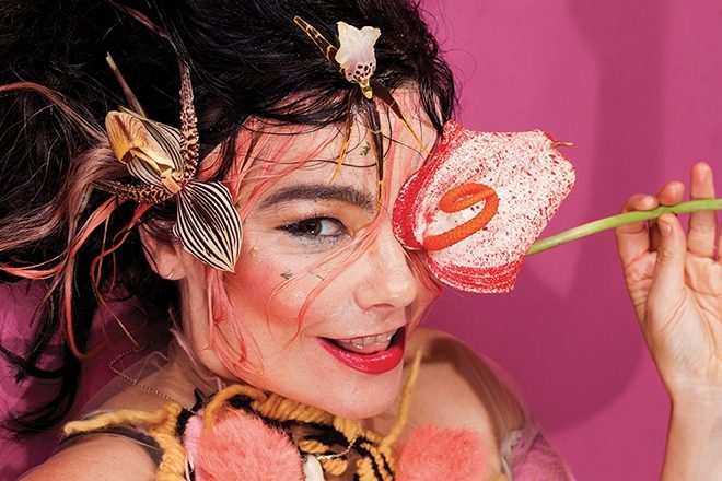 "​Björk prepares her ""most elaborate stage concert yet"" for its debut in NYC"