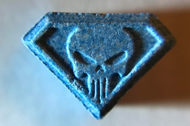 Parklife Festival organizers issue warning about blue 'Punisher' ecstasy pills