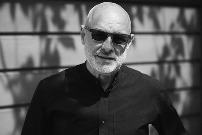 Brian Eno launches EarthPercent, a climate change initiative for the music industry