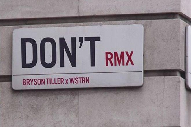 Bryson Tiller x WSTRN