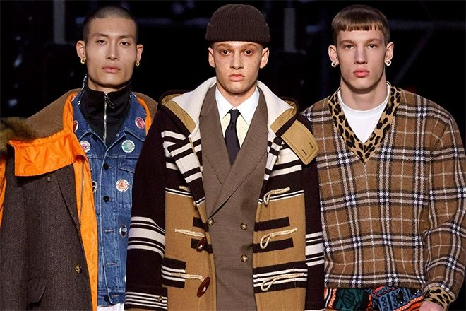 Burberry's new show pays homage to British rave culture