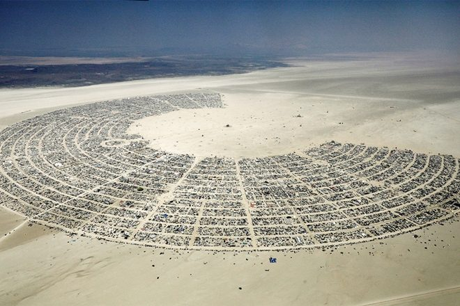 The US government wants to build a wall around Burning Man