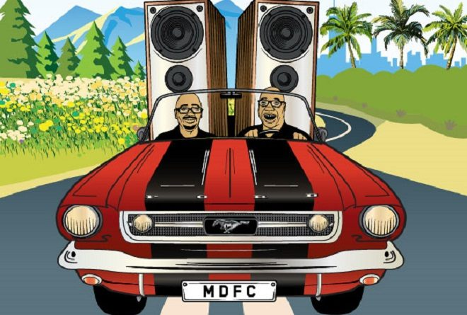 Carl Cox and Eric Powell are touring Antipodean wineries with their Mobile Disco