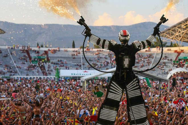 Ultra Europe's first day cancelled due to severe weather
