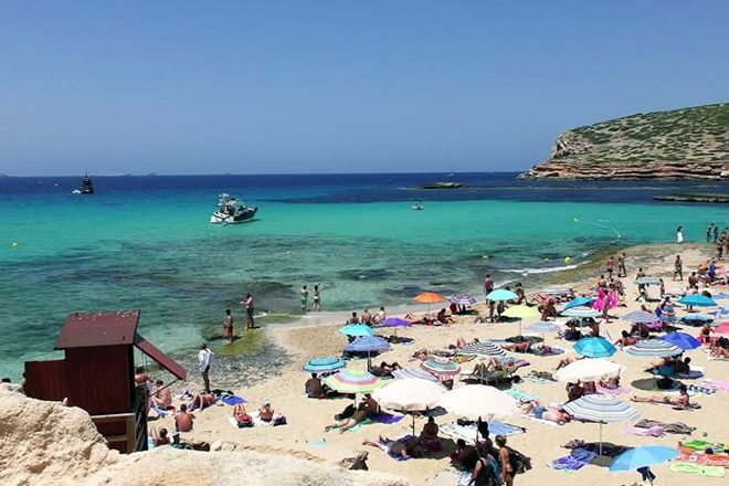 ​Illegal Ibiza rave results in police brawl and over 70 arrests