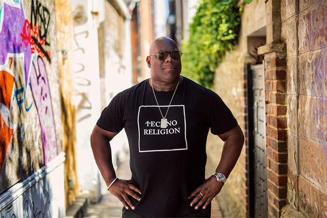Listen to Carl Cox's first new track in over 2 years