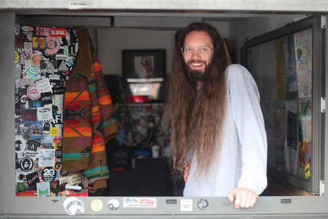 Charlie Bones is fundraising for a new radio station