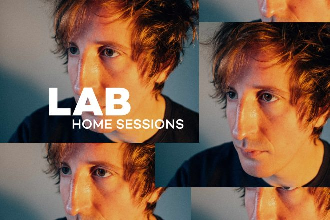 Christian Löffler in The Lab: Home Sessions