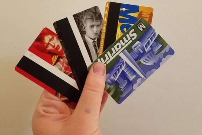 David Bowie MetroCards hit the NYC Subways
