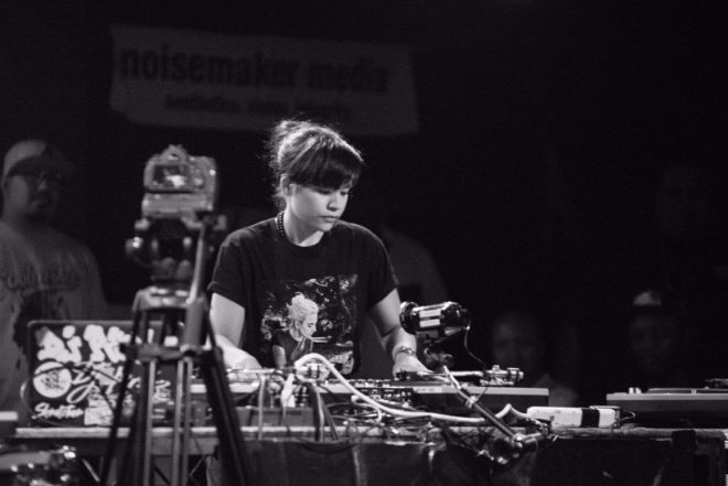DJ Perly becomes the first woman to win the DMC annual DJ battle