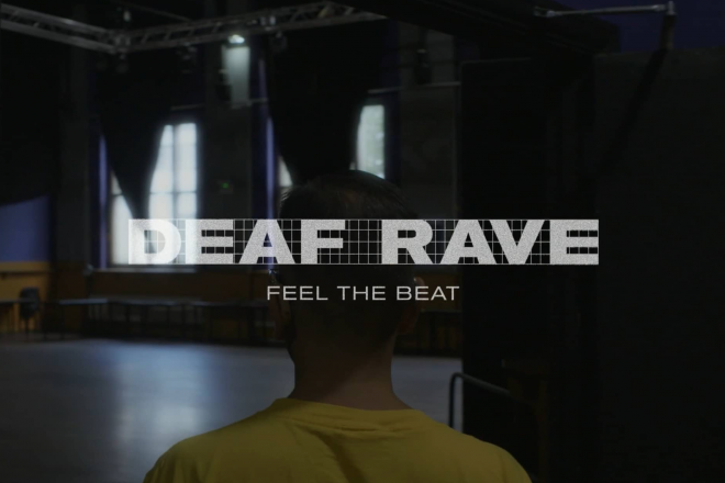 Watch a new short film exploring the British deaf rave scene