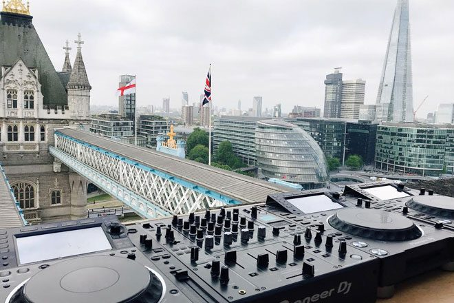 ​Defected celebrates London with two DJ sets from the top of Tower Bridge