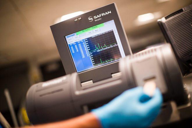 A nightclub has implemented drug itemiser machines to test