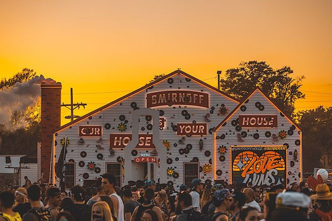 Watch Chris Lake, Chocolate Puma, Julia Govor and Friction from The Lab Smirnoff House at EDC Orlando