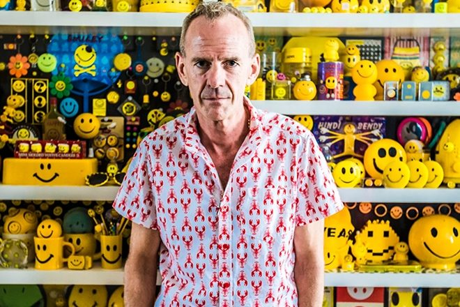 Fatboy Slim curates a new smiley art exhibition