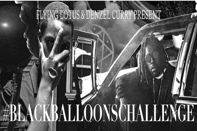 Flying Lotus and Denzel Curry issue the #BLACKBALLOONSCHALLENGE