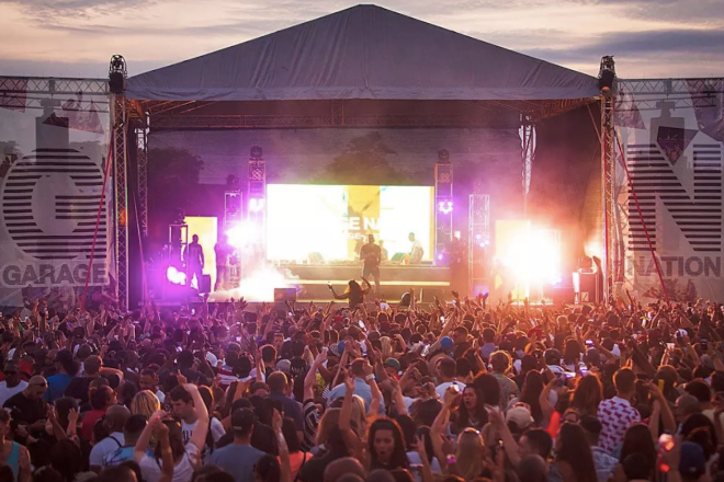 Four people stabbed at Garage Nation music festival in east London