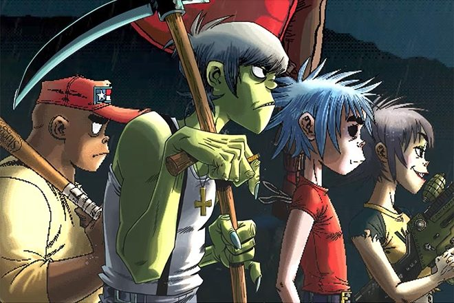Gorillaz and Little Simz debut a fiery music video for their brand new 'Garage Palace'