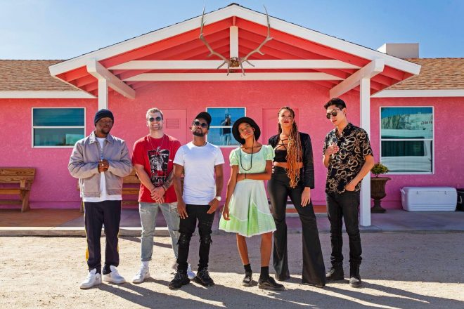 Mixmag and AKG escape to Pink Satellite Studios in Joshua Tree for an artist retreat