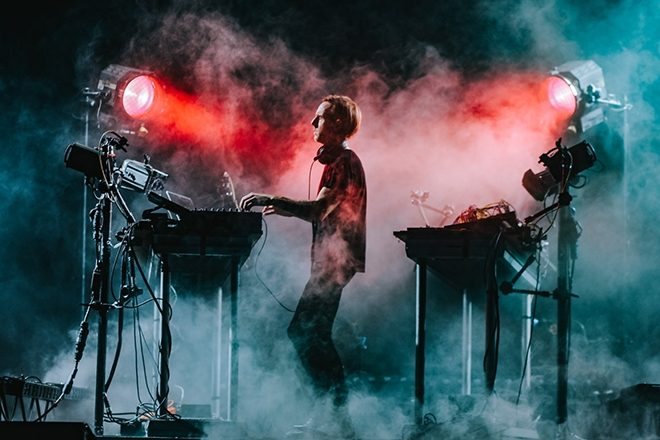 ​Richie Hawtin demonstrates the mechanics of his live show CLOSE