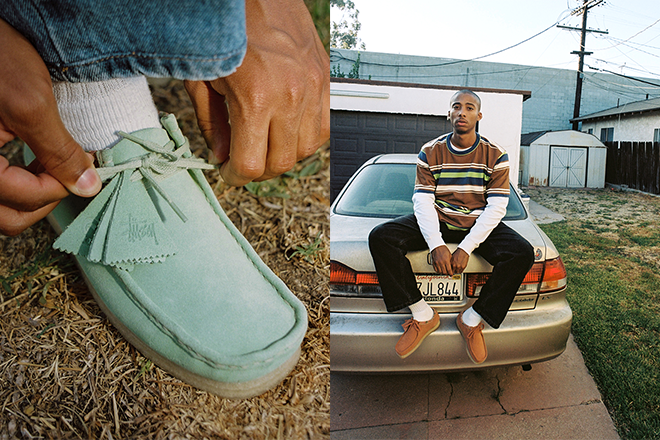 Stüssy and Clarks Originals bring us two autumn-ready Wallabees