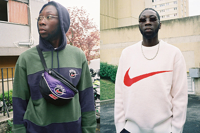 Supreme and Nike link up for 2019 summer collection