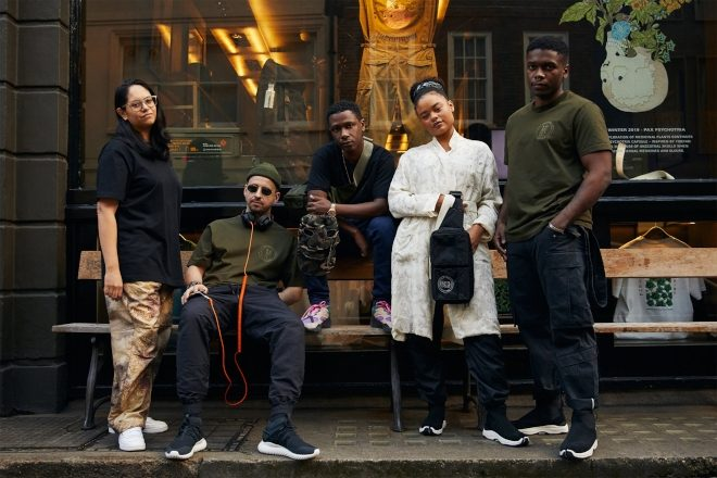 Check out Hyperdub, Maharishi and AIAIAI's latest collection